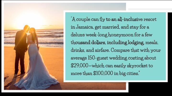 couples spend on honeymoon