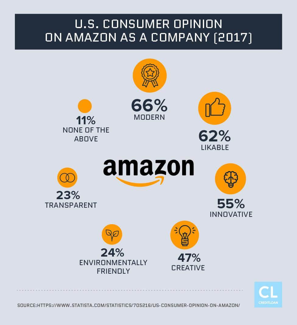 2017 U.S. Consumer Opinion on Amazon as a Company