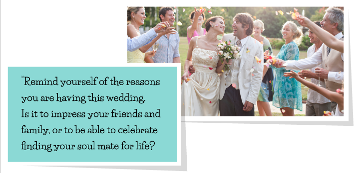 reasons you're having the wedding