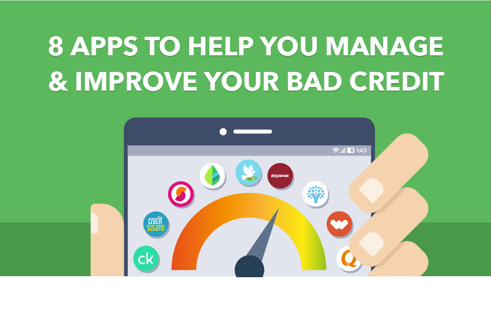 Capital One Auto Loan Payment >> 8 Apps to Help You Manage and Improve Your Bad Credit - CreditLoan.com®