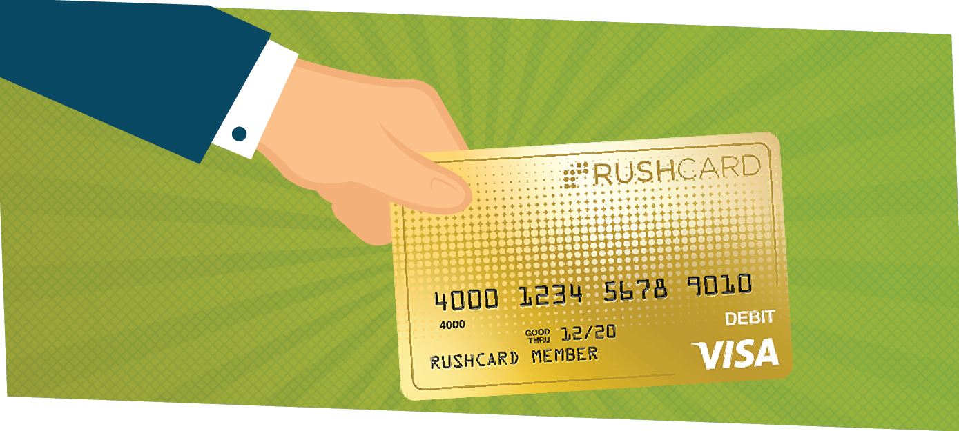 Rushcard prepaid debit card review creditloan about rushcard magicingreecefo Gallery