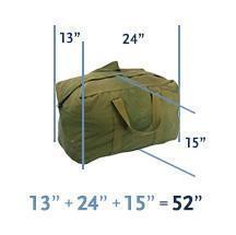 Air Canada Checked Bags Dimensions
