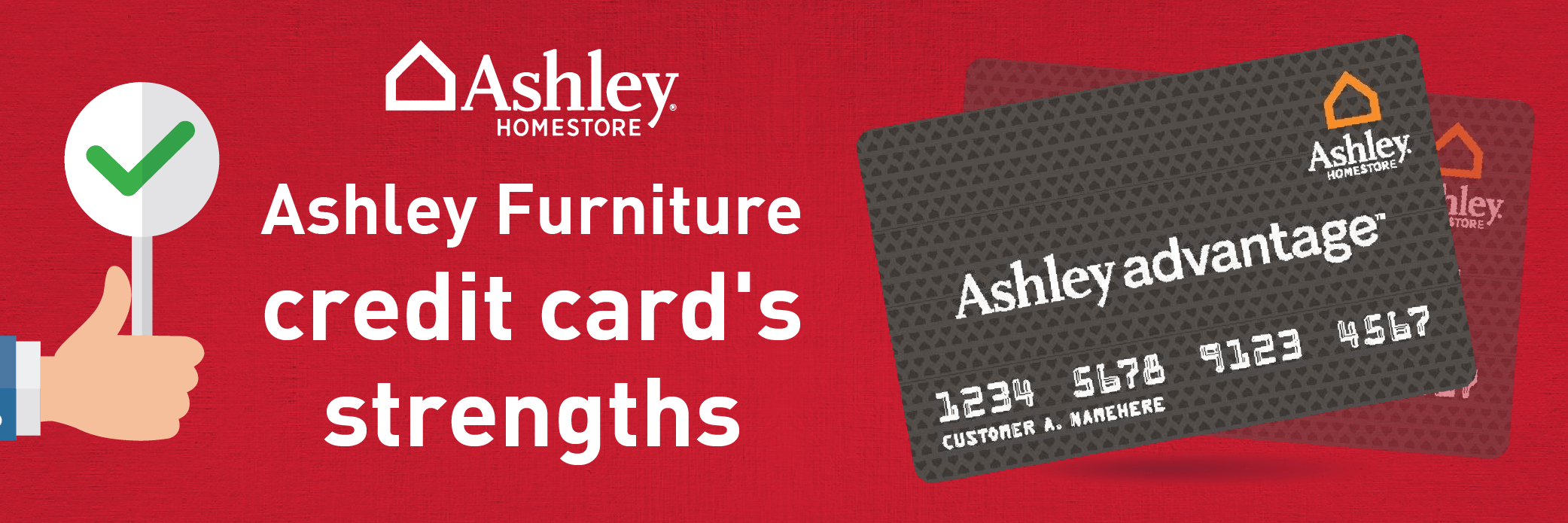 ashley home furniture credit card review