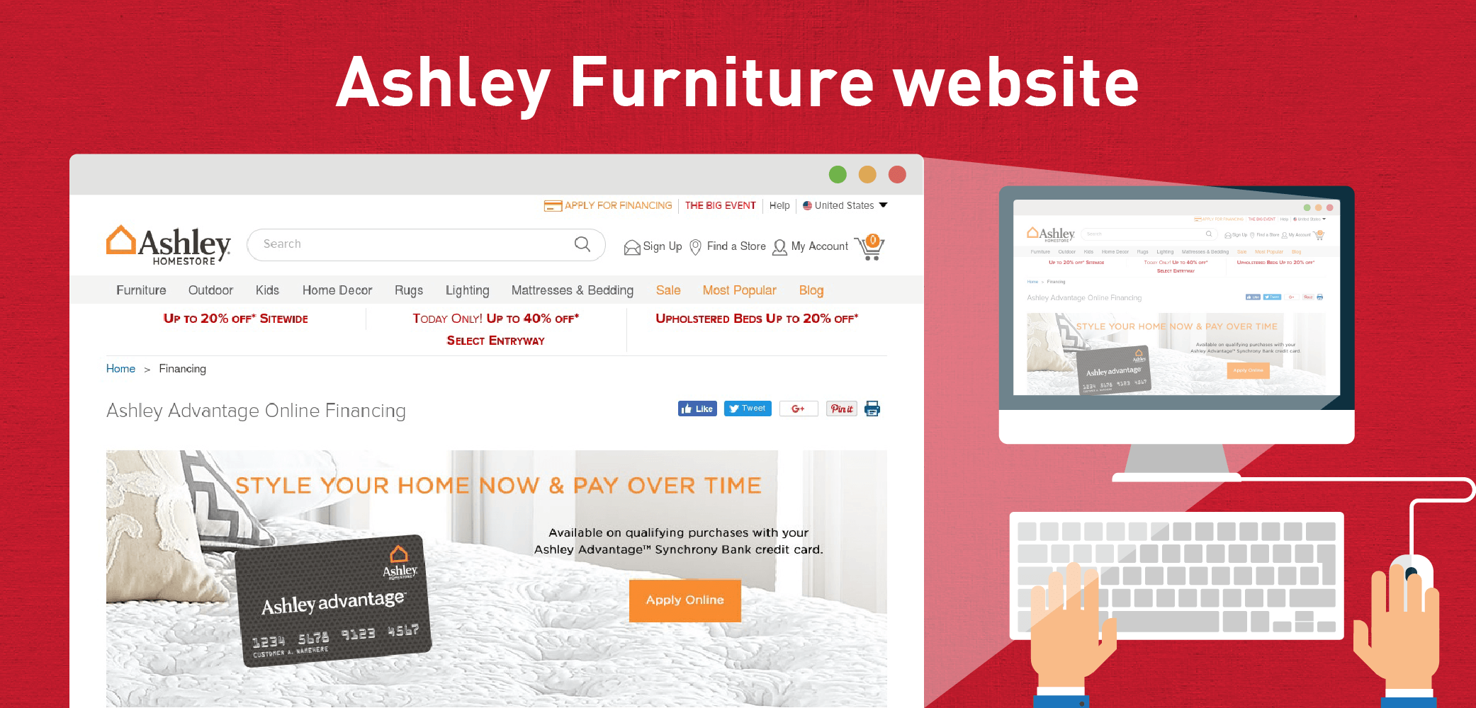 ashley home furniture credit card review creditloan coma