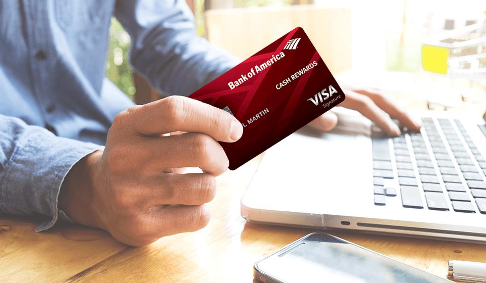 Bankamericard Cash Back Credit Card