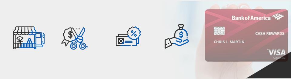Bankamericard Cash Rewards offers