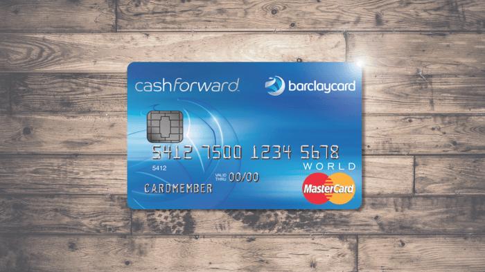 Capital One Auto Loan Payment >> Barclaycard CashForward World Mastercard Review ...