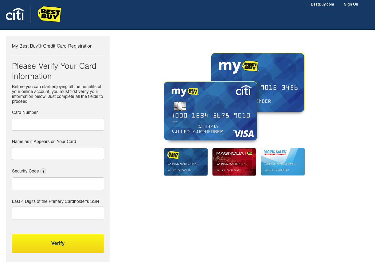 how to qualify for best buy credit card