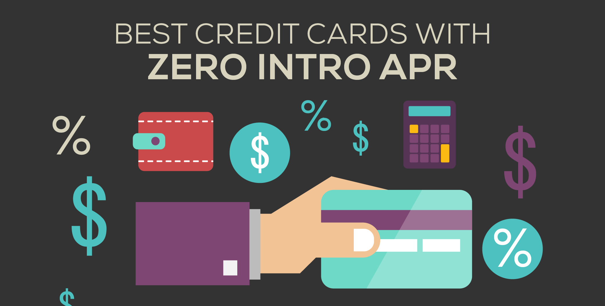 Auto Loan Rates By Credit Score >> The Best Credit Cards With 0% APR - CreditLoan.com®