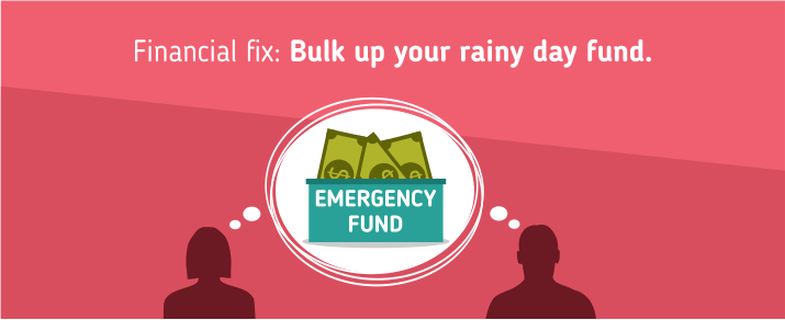 Bulk up your rainy day fund