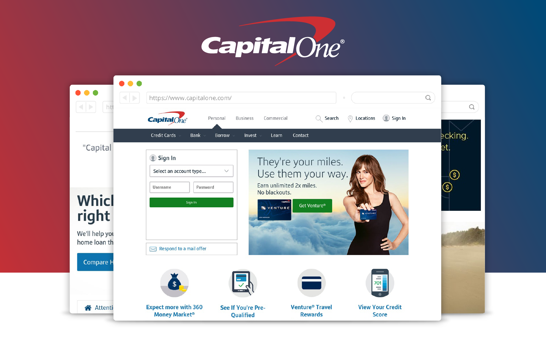 Capital One Auto Loan Payment >> Capital One Bank Review - CreditLoan.com®