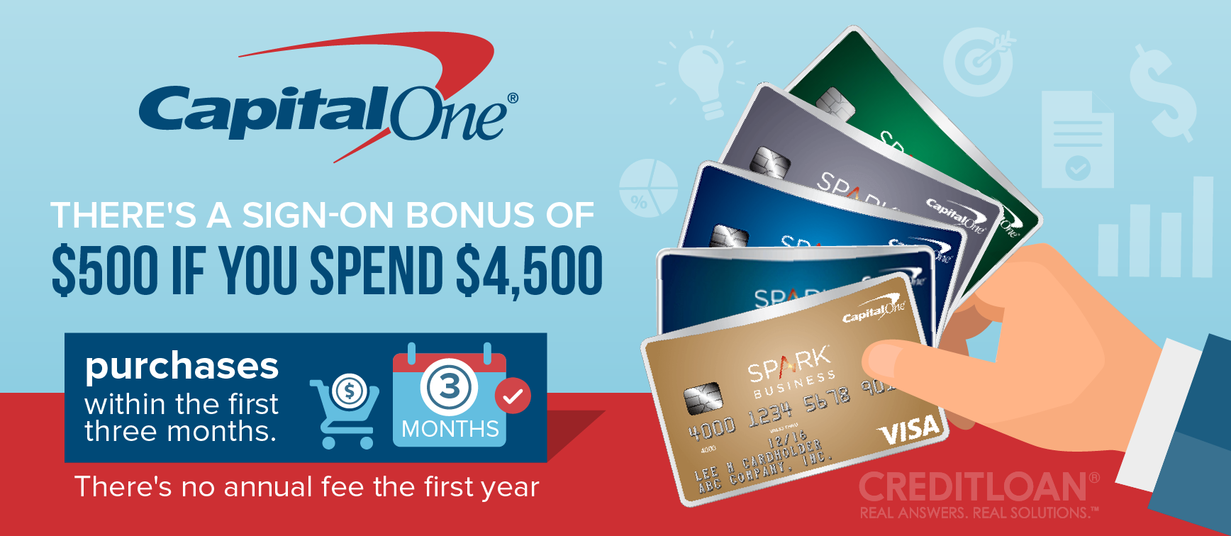 Capital one bank review creditloan capital one spark business credit card a card that gets down to business magicingreecefo Images