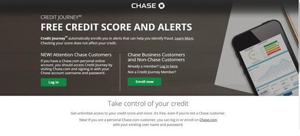 Chase Credit Journey program
