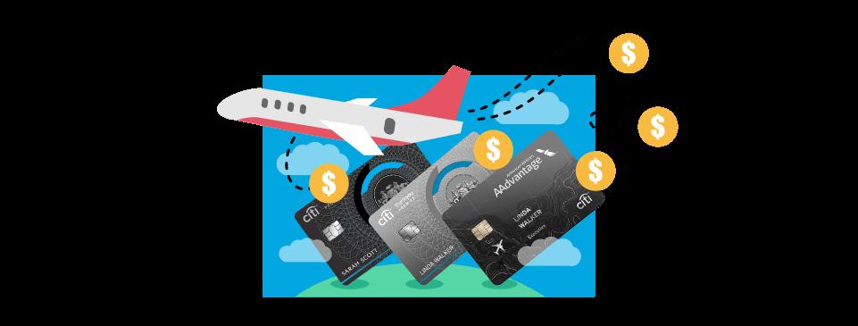 Citi Bonus credit cards will work best when traveling