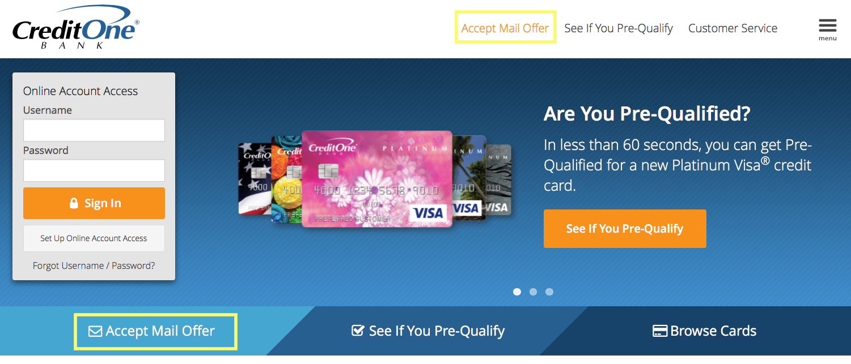 Credit One Bank Review Creditloan Com