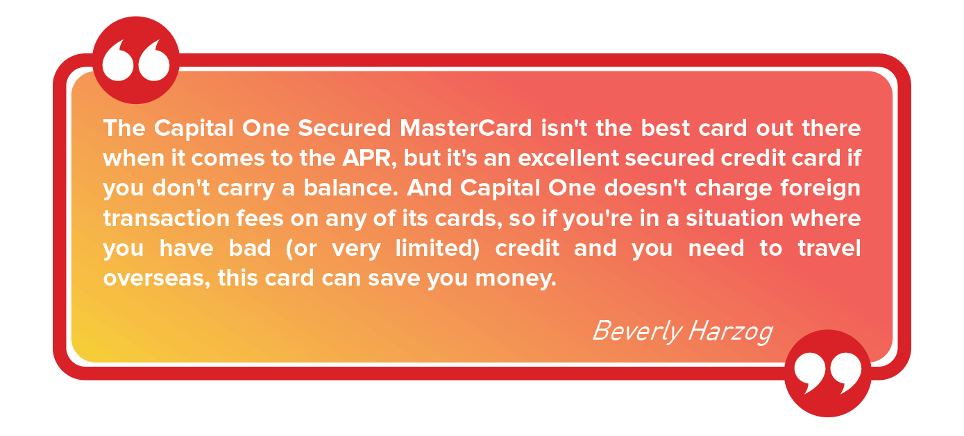 how to get a secured credit card with bad credit
