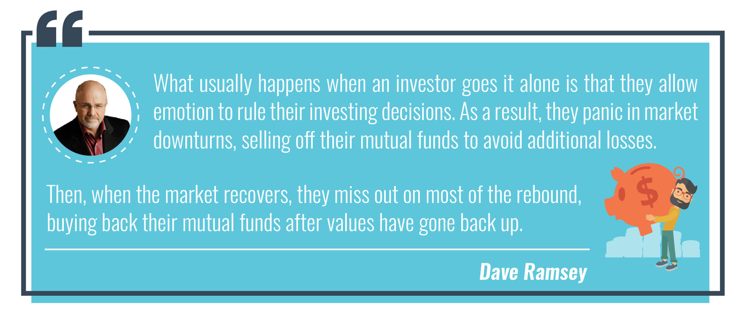 Dave Ramsey quote about investors