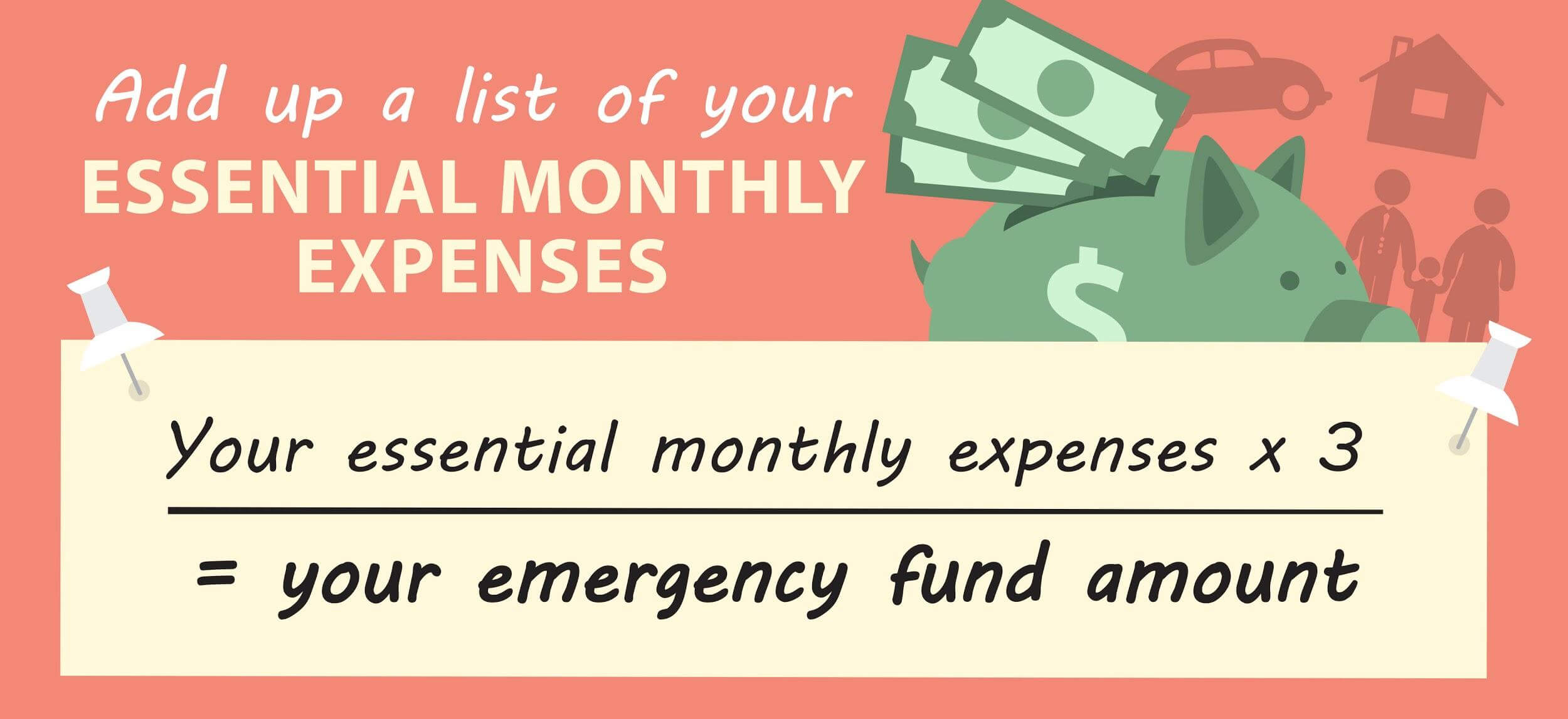 essential monthly expenses