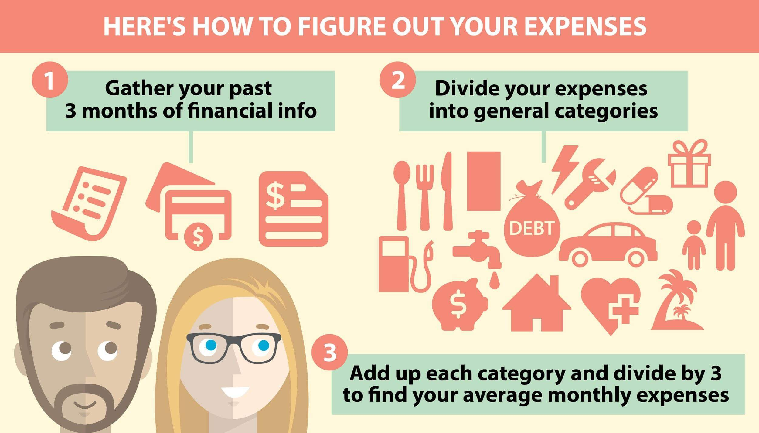 figure out expenses