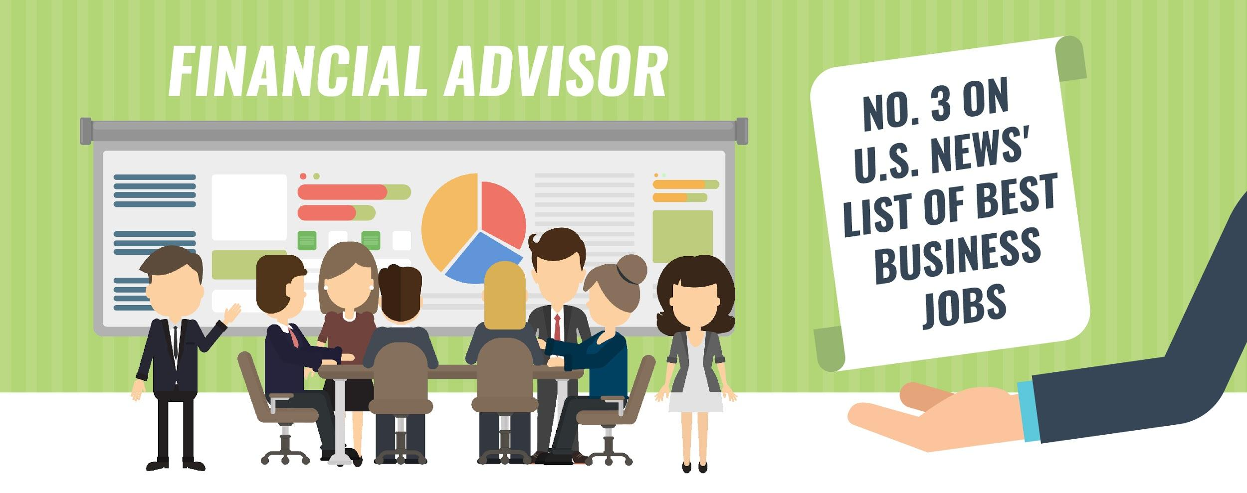 financial advisor is ranked top 3 business jobs