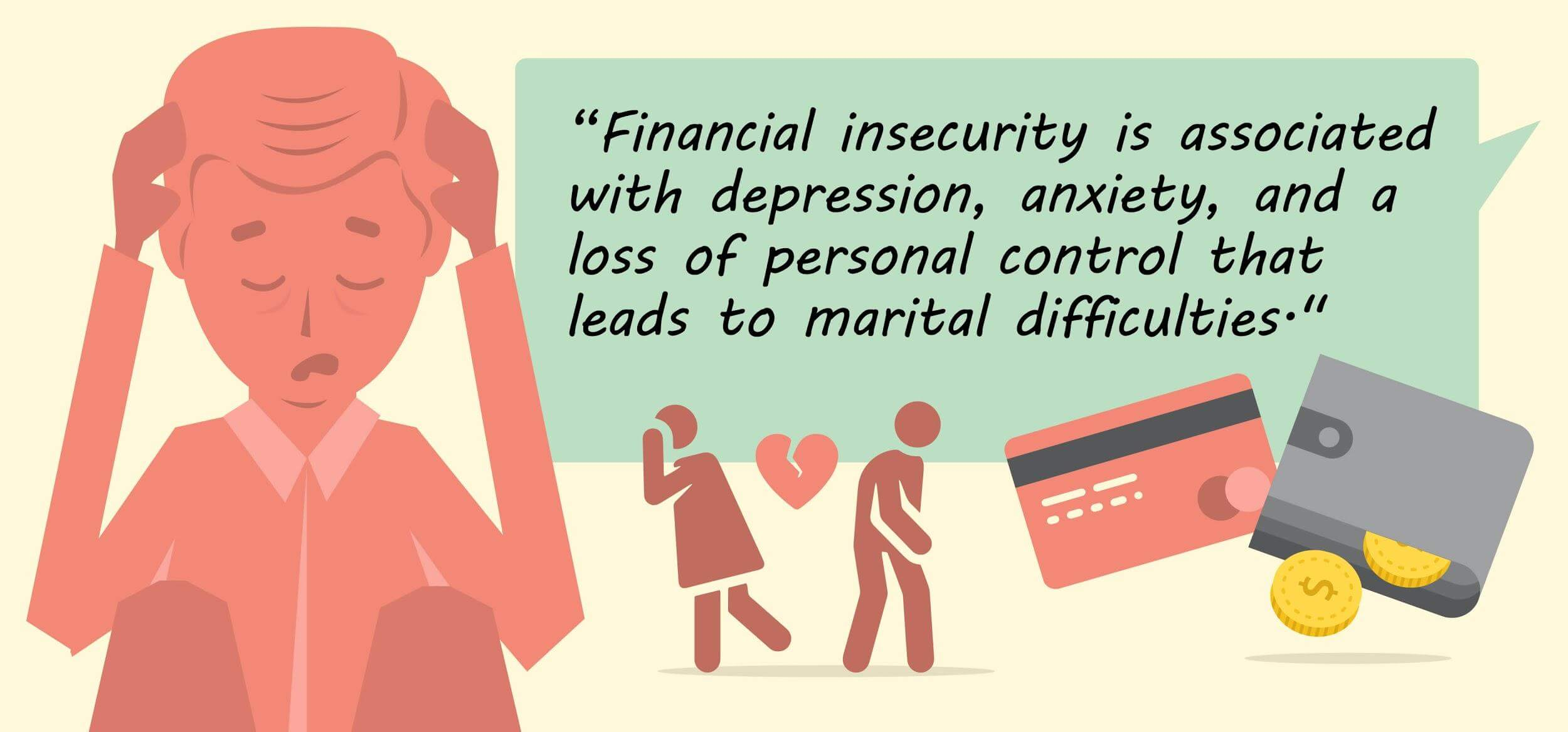 financial insecurity quote
