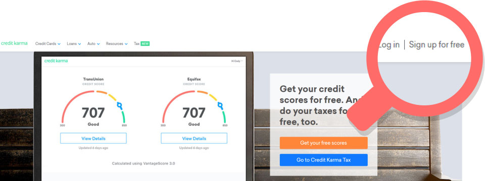 Credit karma review creditloan get your credit scores for free and do your taxes fo free too ccuart Image collections