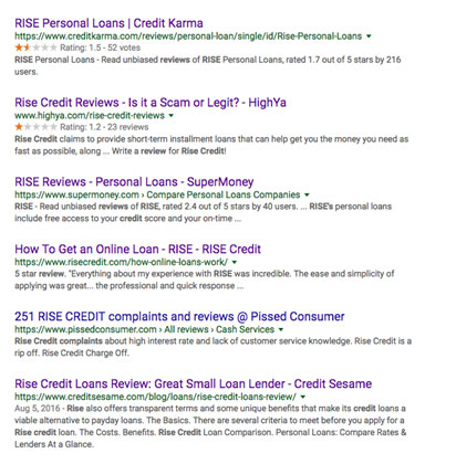 Rise Credit Review Creditloan Com