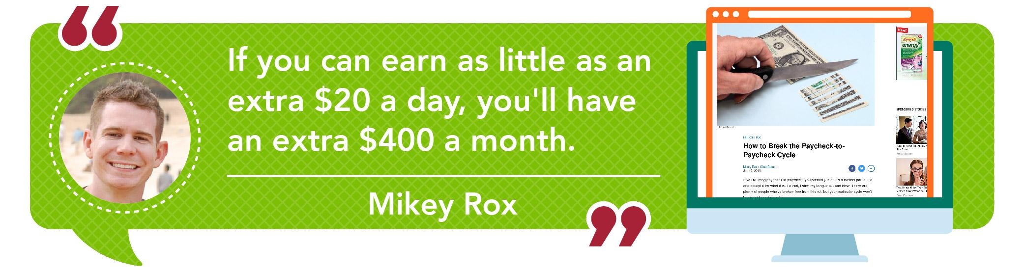 Mike Rox quote