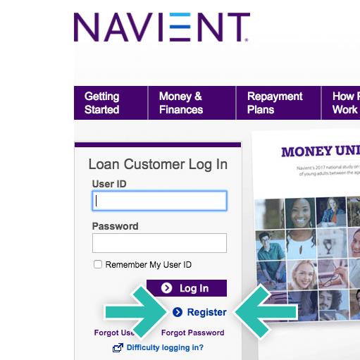 Navient website