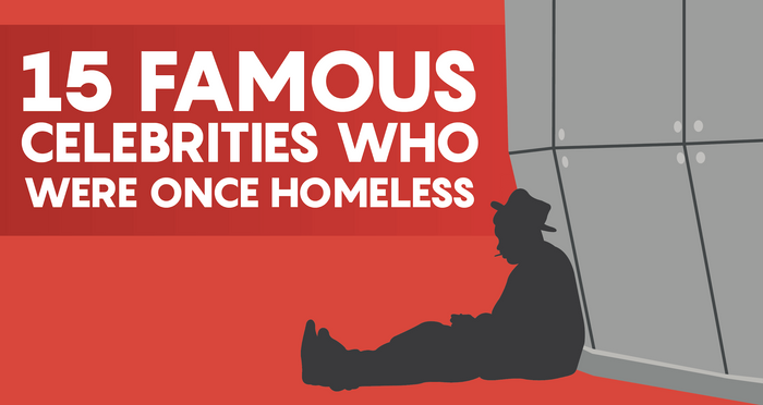 famous celebrities    homeless creditloancom