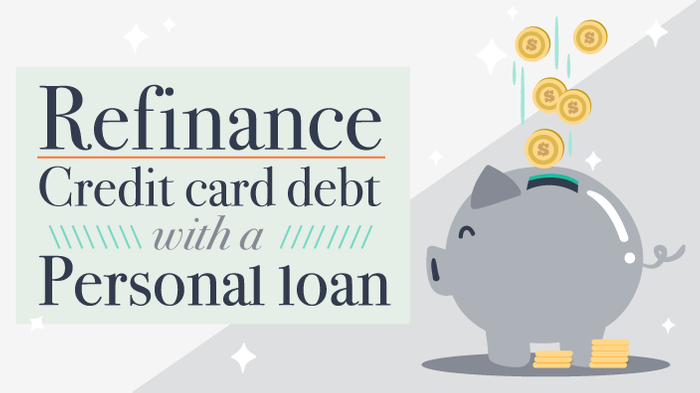 refinance credit card debt with a personal loan 0