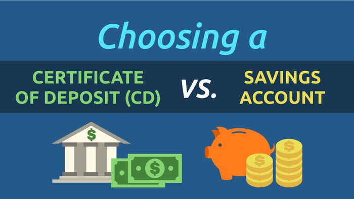choosing a certificate of deposit cd vs a savings account 0