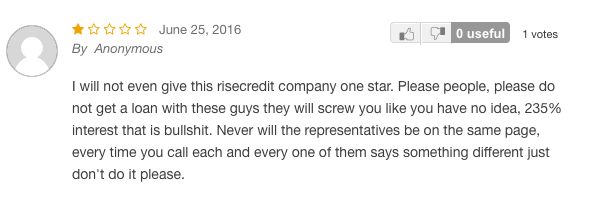Review from Supermoney on Rise's services