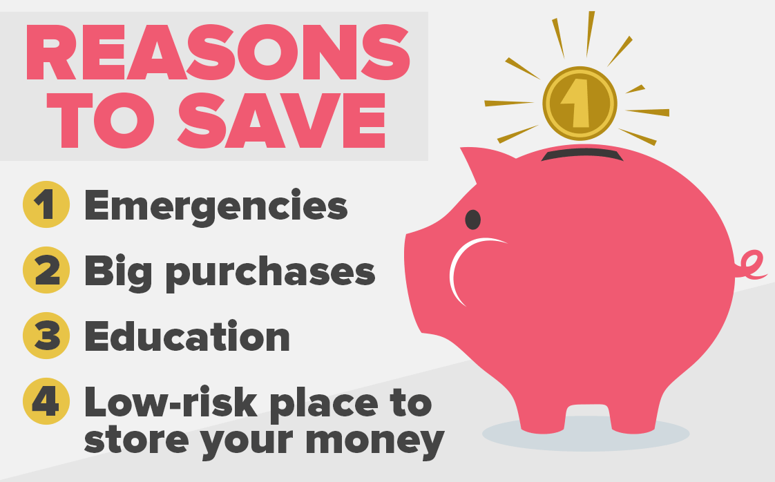 reasons to save