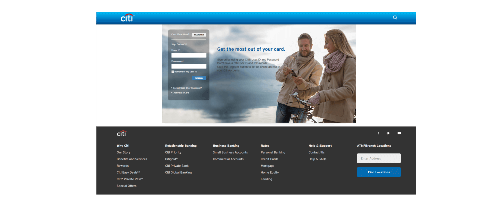 Send a secured message through Citi's online portal to close account