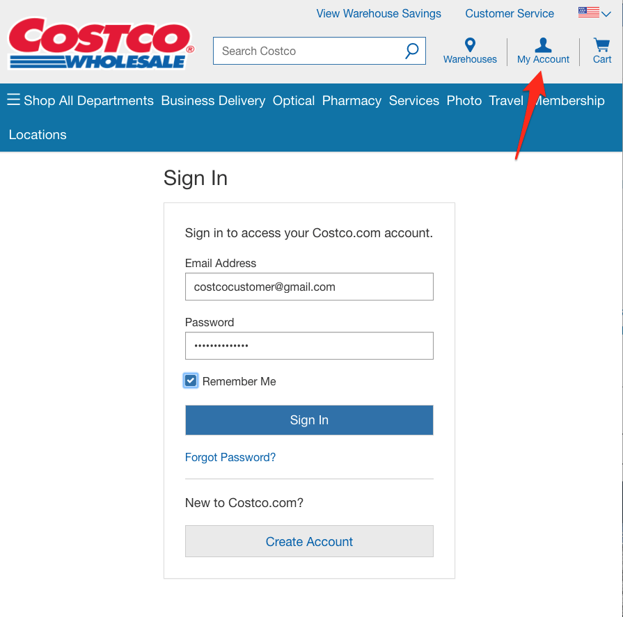Costco credit cards an in depth review creditloan sign in screenshot falaconquin