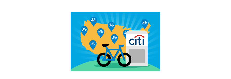 The history of Citibank and why bikes matter to them.