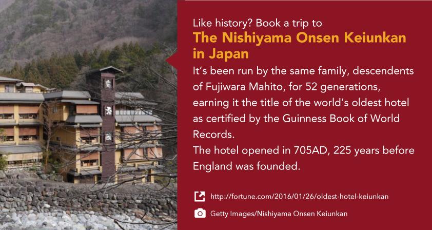 The Nishiyama Onsen Keiunkan in Japan