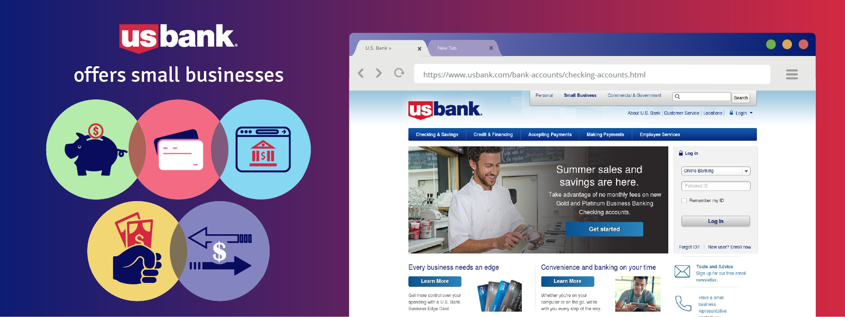 U.S. Bank offers lots of perks for business owners