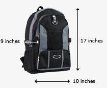 United Personal Item Dimensions