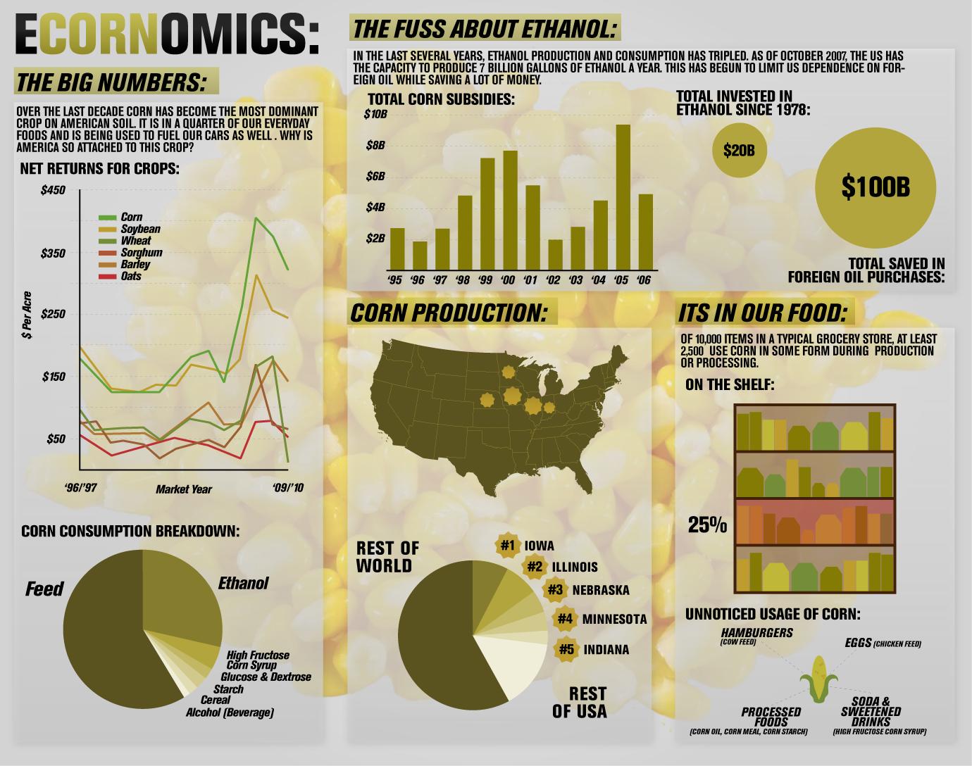 Economics of corn in America