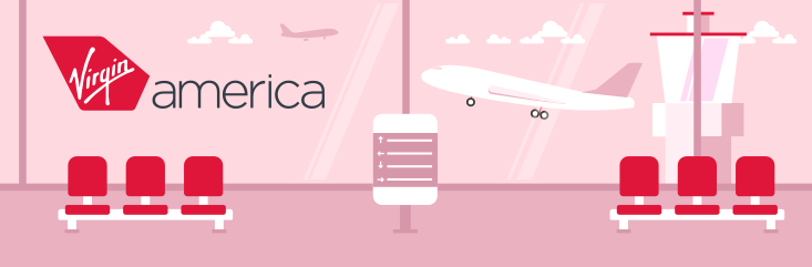 Virgin America Header