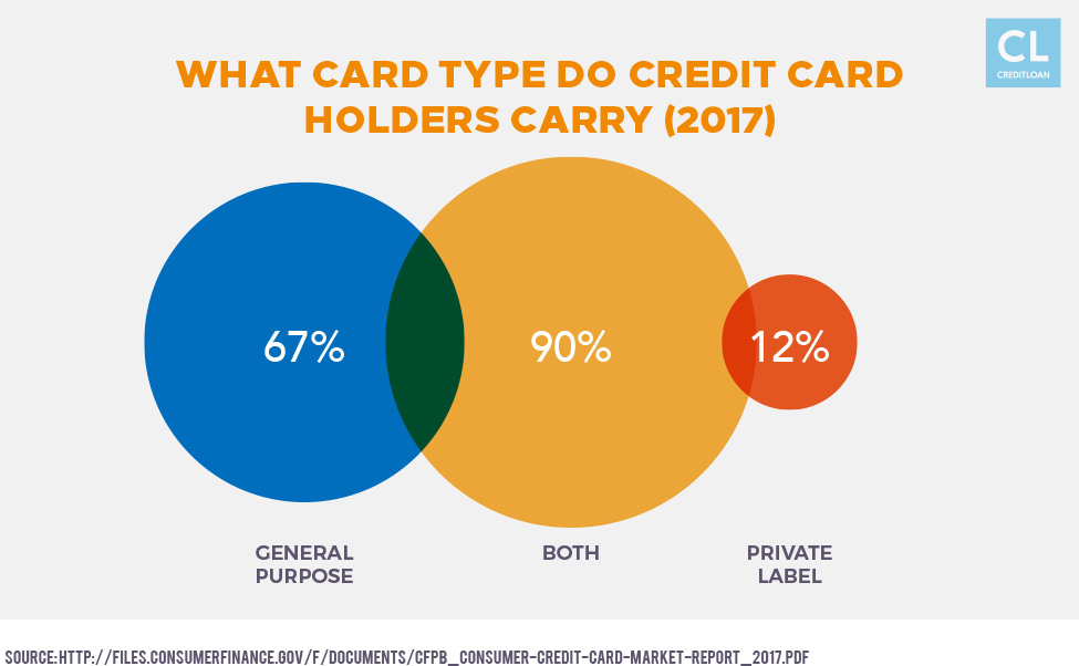 What Card Type do Credit Card Holders Carry (2017)