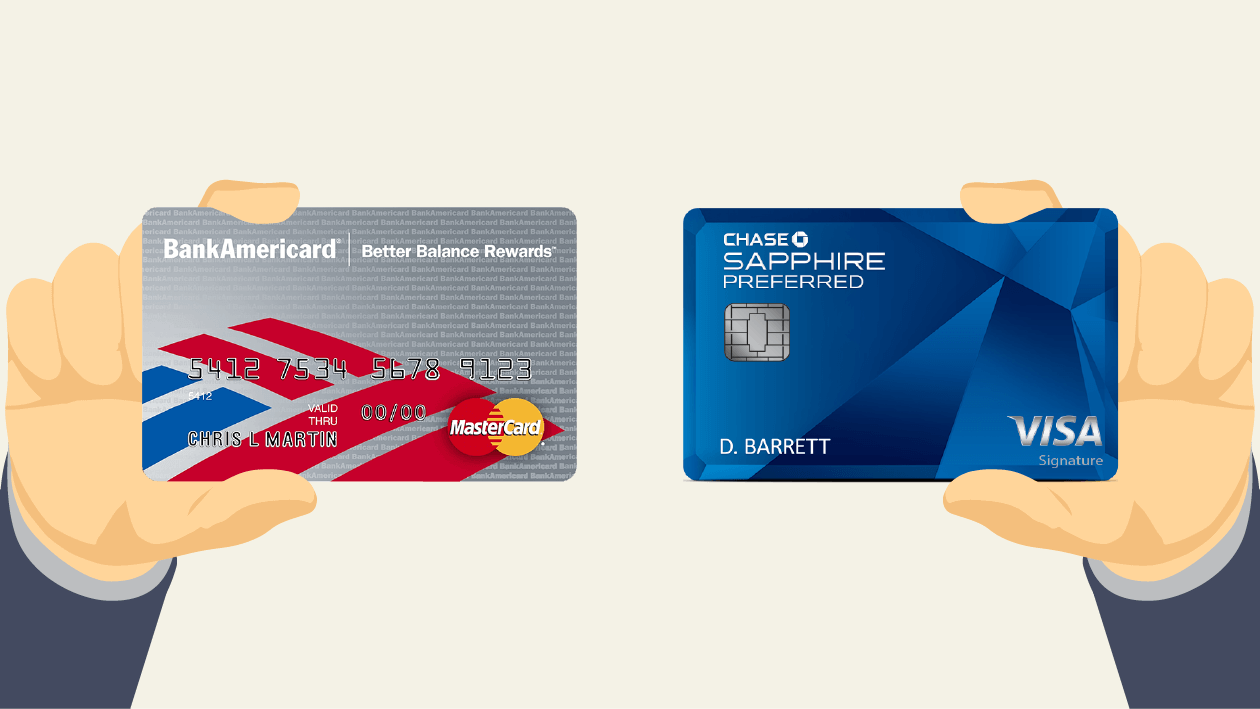 which is better  bank of america vs  chase credit cards