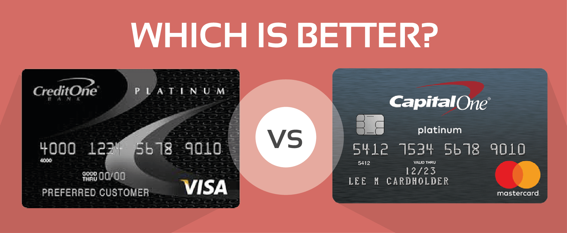 Compared: Credit One Unsecured Visa and Capital One ...