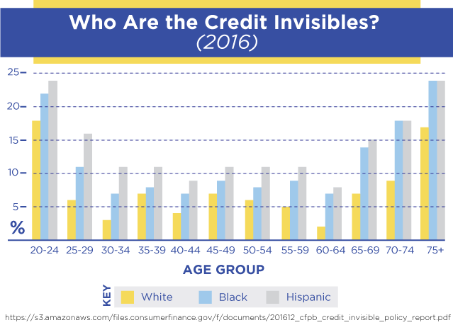 Who are the credit invisibles?