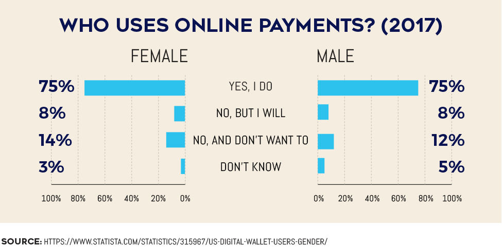Who Uses Online Payments? (2017)
